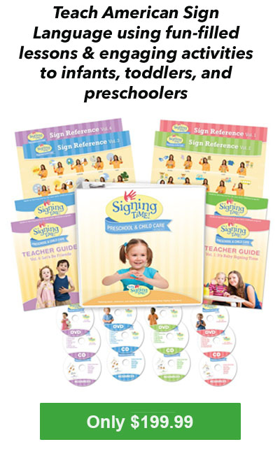Baby Signing Time Preschool & Childcare Program for homeschool?